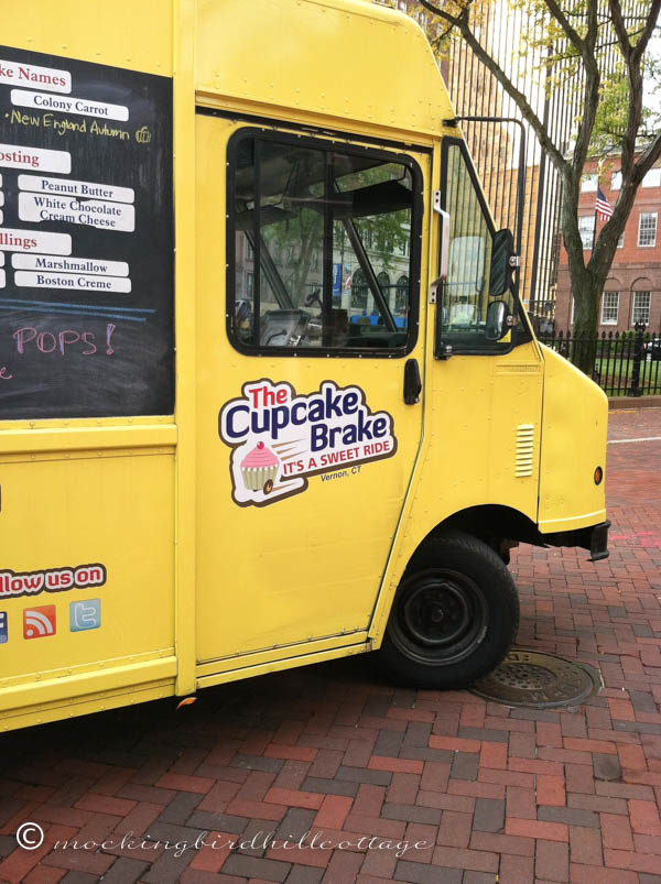 Cupcaketruck - front end