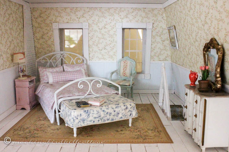 dolls house wallpaper bedroom - photo #5