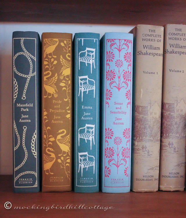 3-5 mansfield park on the shelf