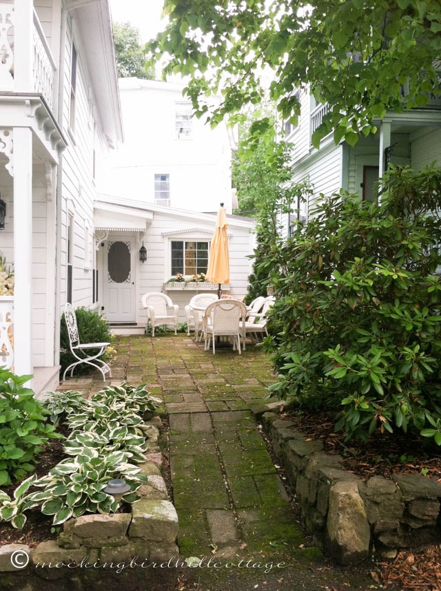 7-2 side yard of 'yellow' house