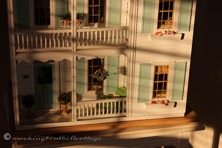 9-4 dollhouse late afternoon