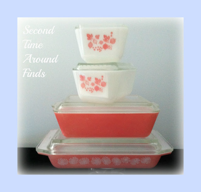 Pink mix Pyrex