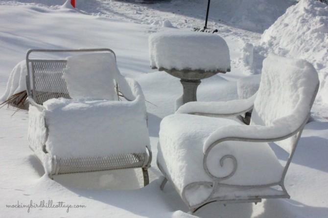 snowonchairs