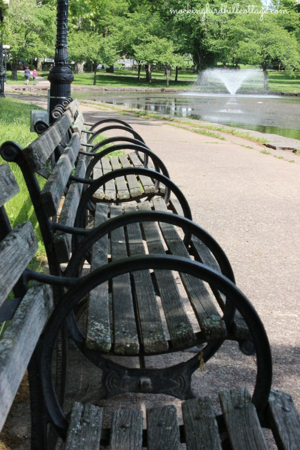 parkbenches