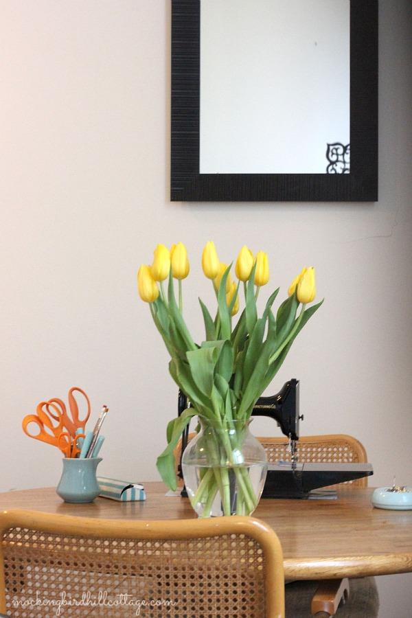 tulipsinvase