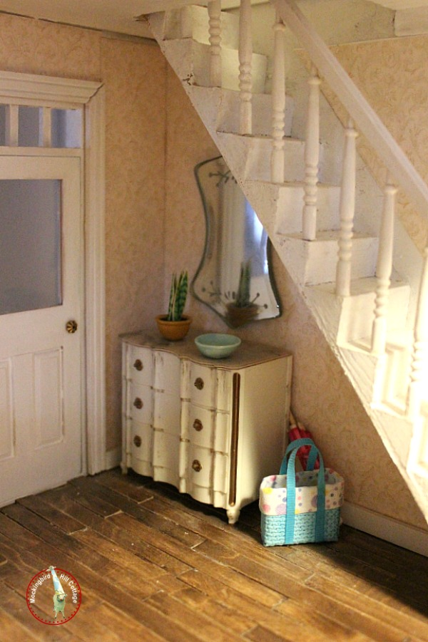 dollhouse miniatures entry foyer