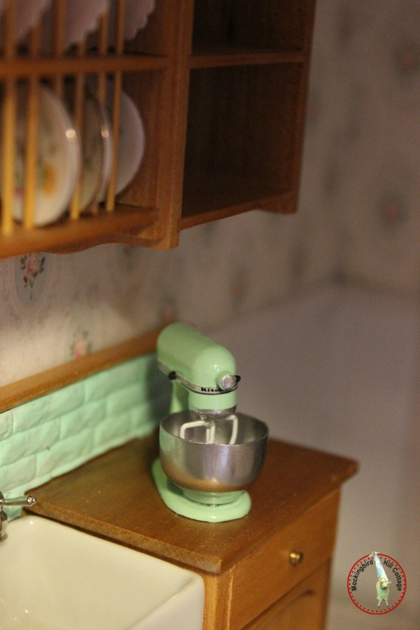 dollhouse mini kitchen aid mixer