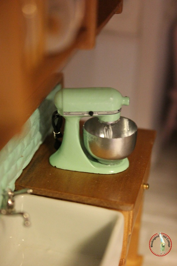 dollhouse kitchen aid mixer
