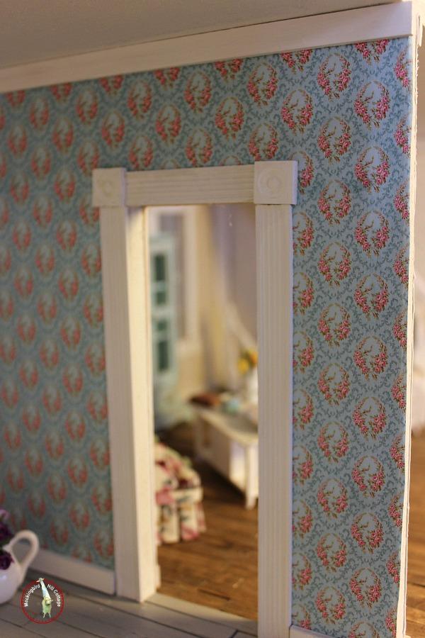 dollhouse wallpaper