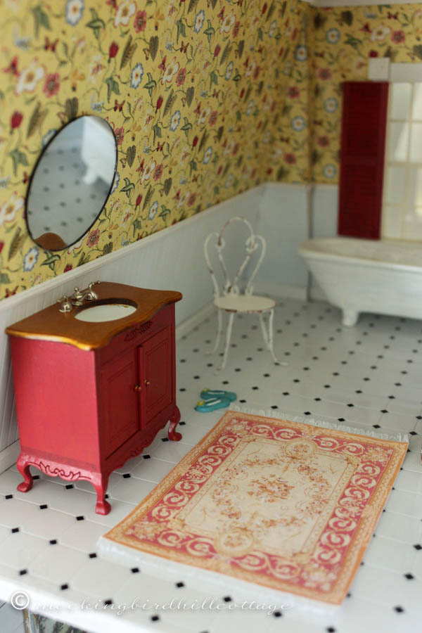 Lovely mondhbathroomrug