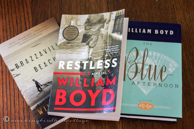 william boyd books