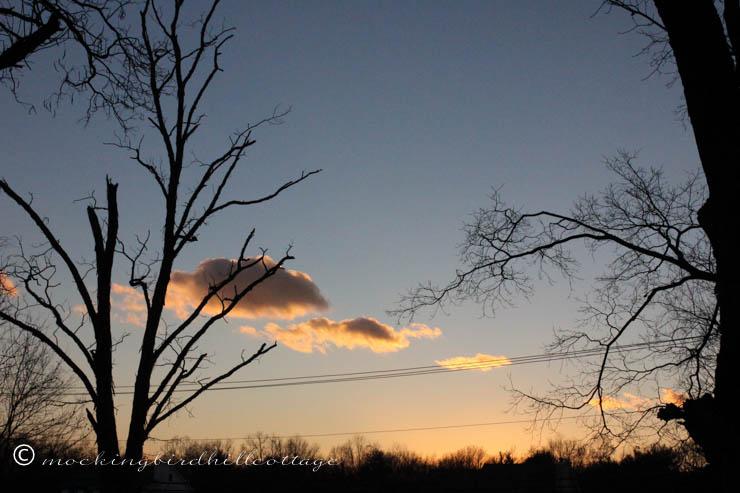 November 18 sunset