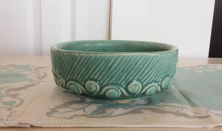 4-13 turquoiseplanting dish