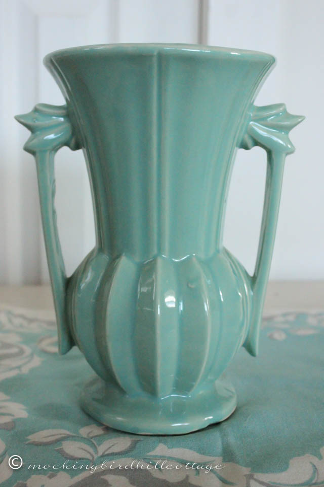 4-18 blue-green vase