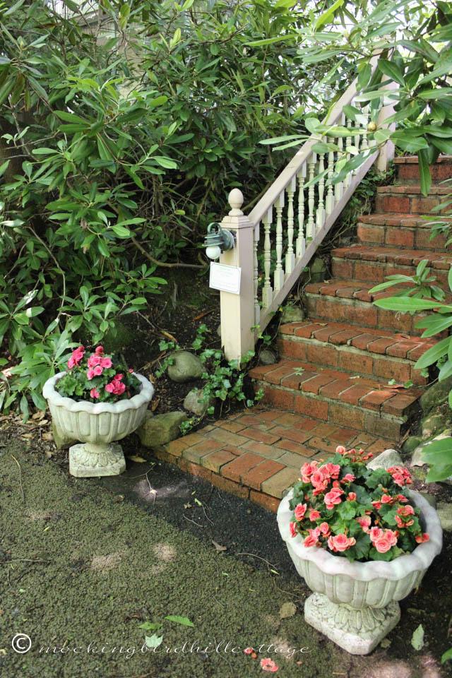 7-3 brick stairs