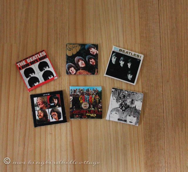 10-3 mini beatles albums