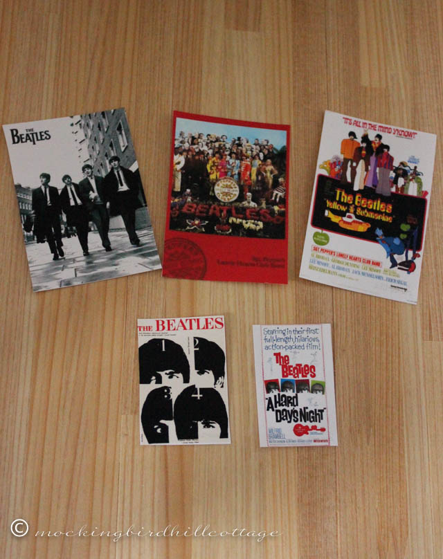 10-3 mini beatles posters