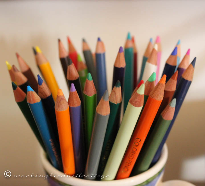 4-4 colored pencils